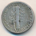 США, 1 дайм (1944 г.)