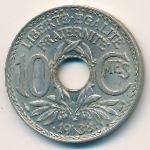 Франция, 10 сентим (1938 г.)