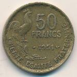 Франция, 50 франков (1951 г.)