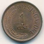 Сингапур, 1 цент (1972 г.)