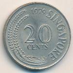 Сингапур, 20 центов (1979 г.)