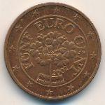Австрия, 5 евроцентов (2002–2004 г.)