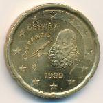 Испания, 20 евроцентов (1999 г.)