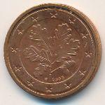 Германия, 2 евроцента (2002 г.)