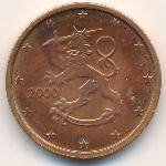 Финляндия, 2 евроцента (2000 г.)