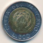 Ватикан, 500 лир (1983 г.)
