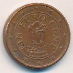 Австрия, 1 евроцент (2009 г.)