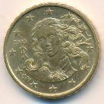 Италия, 10 евроцентов (2010 г.)