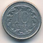 Польша, 10 грошей (2009 г.)