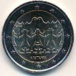 Литва, 2 евро (2018 г.)