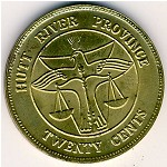 Hutt River Province, 20 cents, 1976–1978
