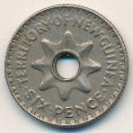 Новая Гвинея, 6 пенсов (1943 г.)