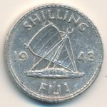 Фиджи, 1 шиллинг (1943 г.)