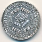 ЮАР, 6 пенсов (1925 г.)