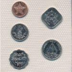 Багамские острова, Набор монет