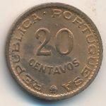 Тимор, 20 сентаво (1970 г.)