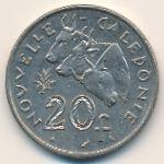 Новая Каледония, 20 франков (1970 г.)