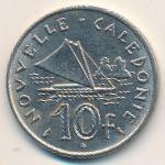 Новая Каледония, 10 франков (1970 г.)