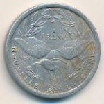 Новая Каледония, 1 франк (1971 г.)