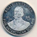 Южный Полюс, 5 долларов (2011 г.)