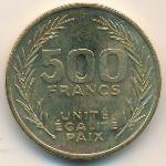 Джибути, 500 франков (2010 г.)