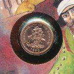 Багамские острова, 1 цент (1990 г.)
