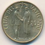 Ватикан, 20 лир (1982 г.)