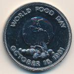 Ямайка, 1 доллар (1981 г.)