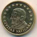 Ватикан, 10 евроцентов