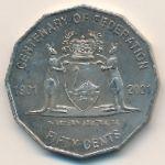 Австралия, 50 центов (2001 г.)