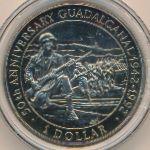 Соломоновы острова, 1 доллар (1992 г.)
