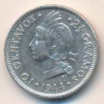 Доминиканская республика, 10 сентаво (1944 г.)