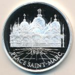 Франция, 100 франков - 15 экю (1994 г.)