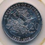 Австралия, 20 центов (2013 г.)