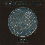 Новая Зеландия, 1 доллар (1981 г.)