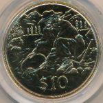Новая Зеландия, 10 долларов (1995 г.)