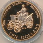 Новая Зеландия, 10 долларов (1998 г.)
