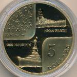 Австралия, 5 долларов (2002 г.)