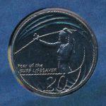 Австралия, 20 центов (2007 г.)