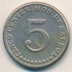 Панама, 5 сентесимо (1967 г.)