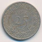 Суринам, 25 центов (1962–1974 г.)