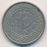 Суринам, 10 центов (1962–1974 г.)