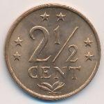 Антильские острова, 2 1/2 цента (1978 г.)