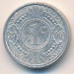 Антильские острова, 1 цент (1999 г.)