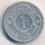 Антильские острова, 1 цент (1993 г.)