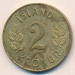 Исландия, 2 кроны (1966 г.)