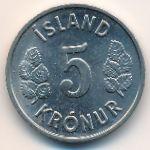 Исландия, 5 крон (1978 г.)