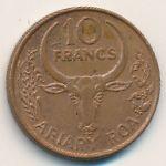 Мадагаскар, 10 франков (1996 г.)