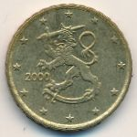 Финляндия, 10 евроцентов (1999–2000 г.)