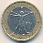 Италия, 1 евро (2006 г.)